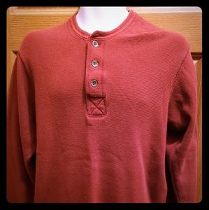 Old Navy Long Sleeve Henley-Size M